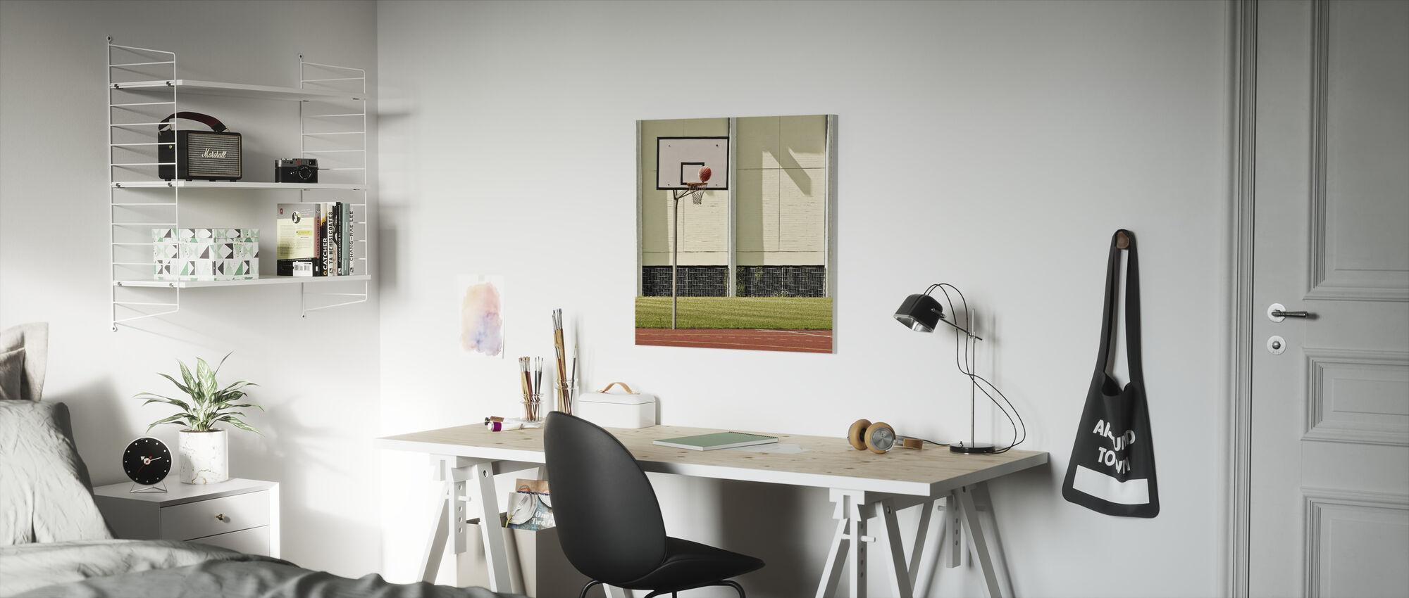 Goal - Canvas print - Kids Room