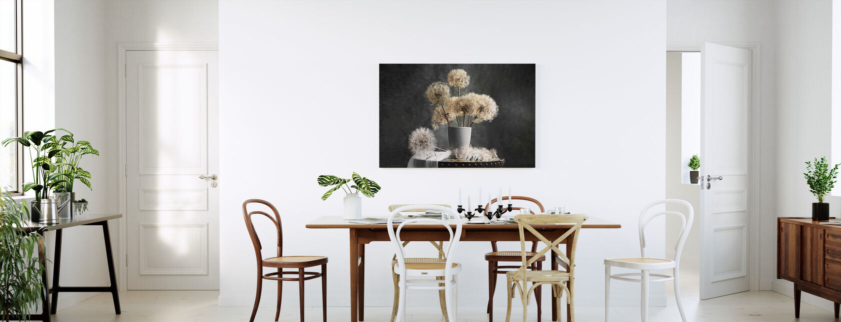 Dandelion Seed Pod - Canvas print - Kitchen