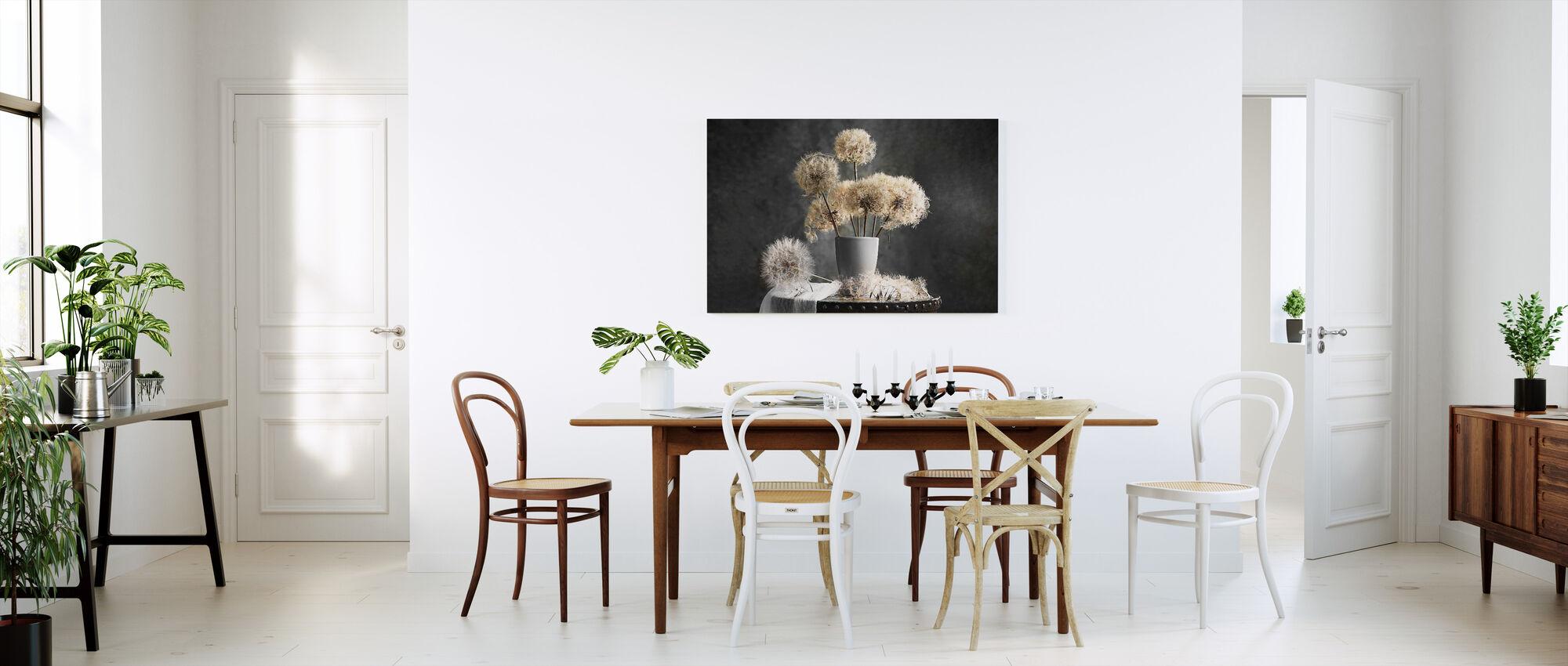Dandelion Seed Pod - Canvas print - Kitchen