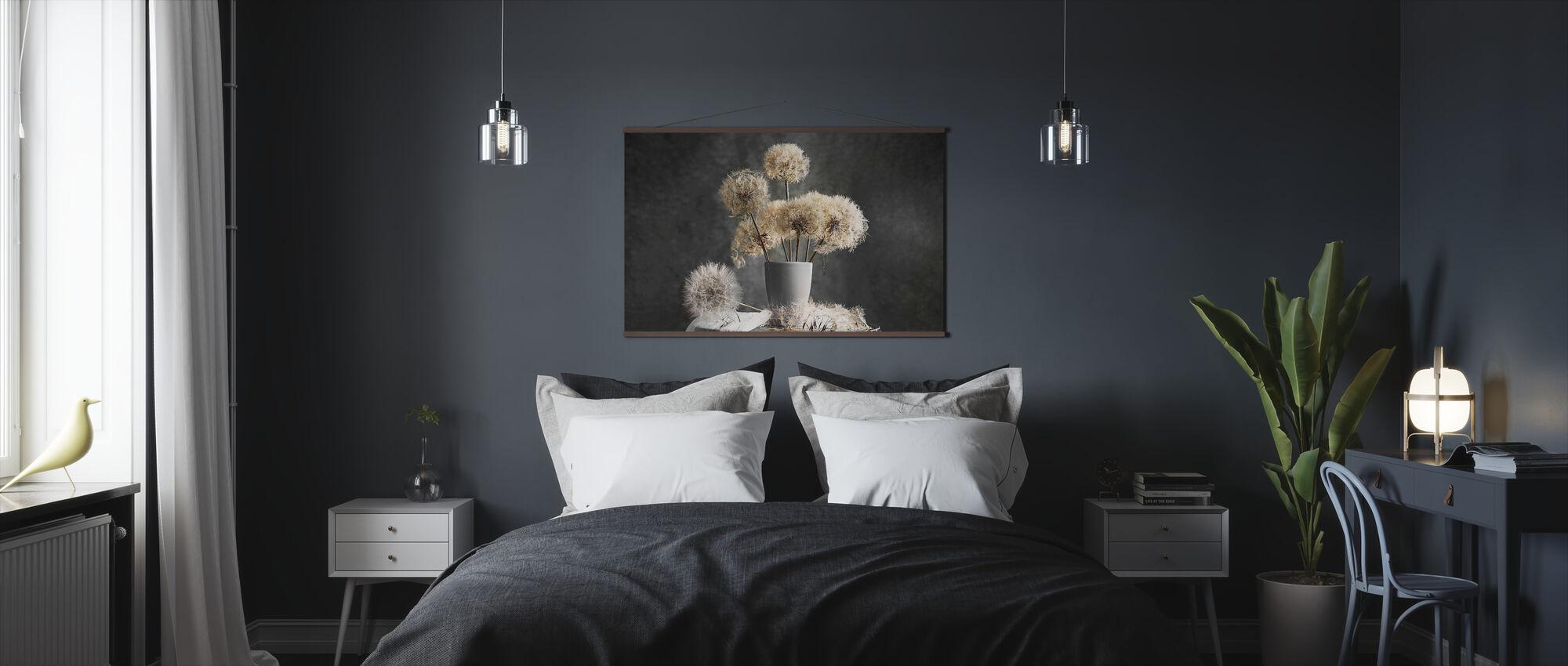 Löwenzahn Samenkapsel - Poster - Schlafzimmer