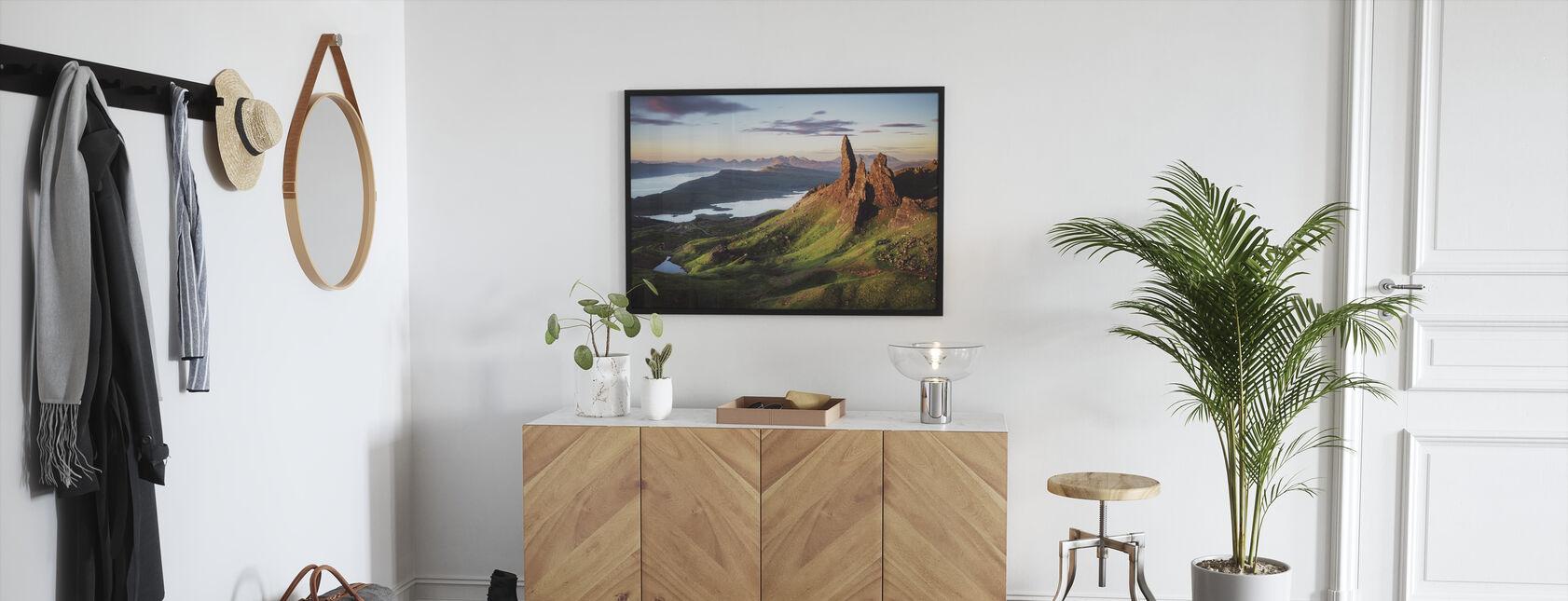 Scotland - Old Man of Storr - Framed print - Hallway