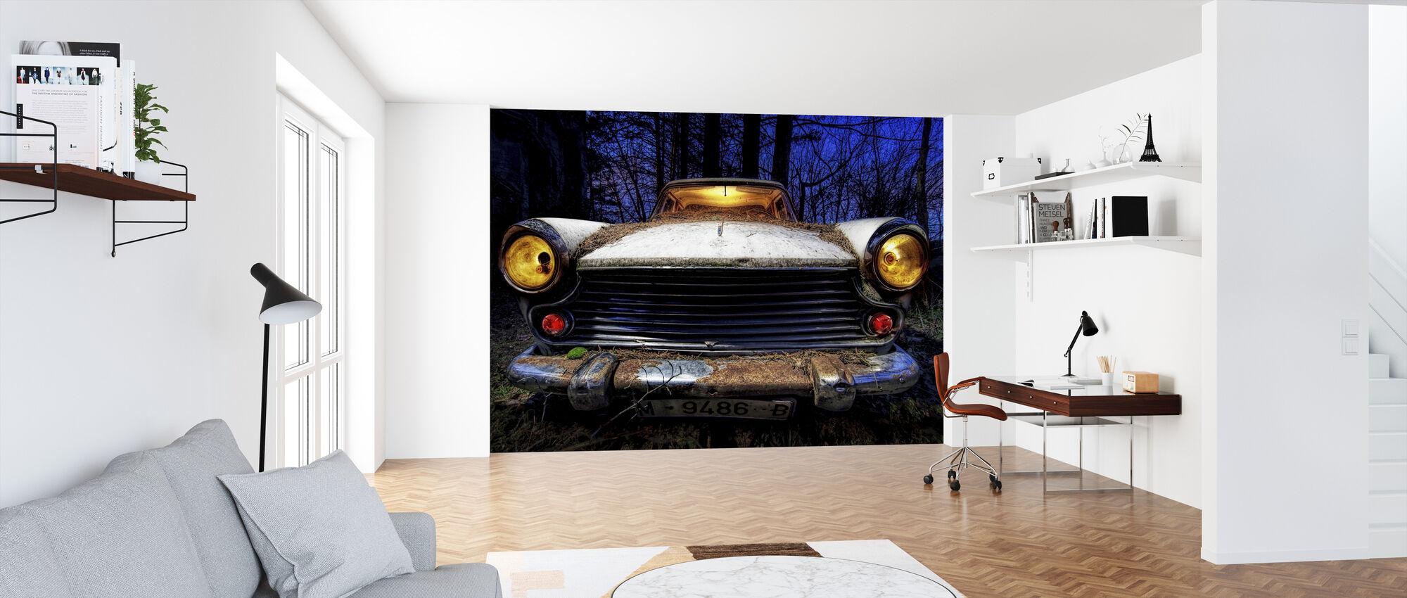 Morris - Wallpaper - Office