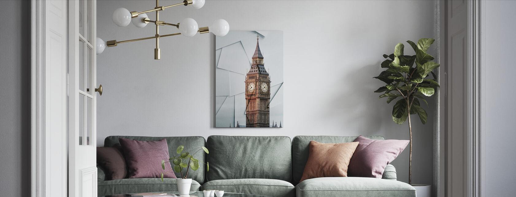 London View - Canvas print - Living Room