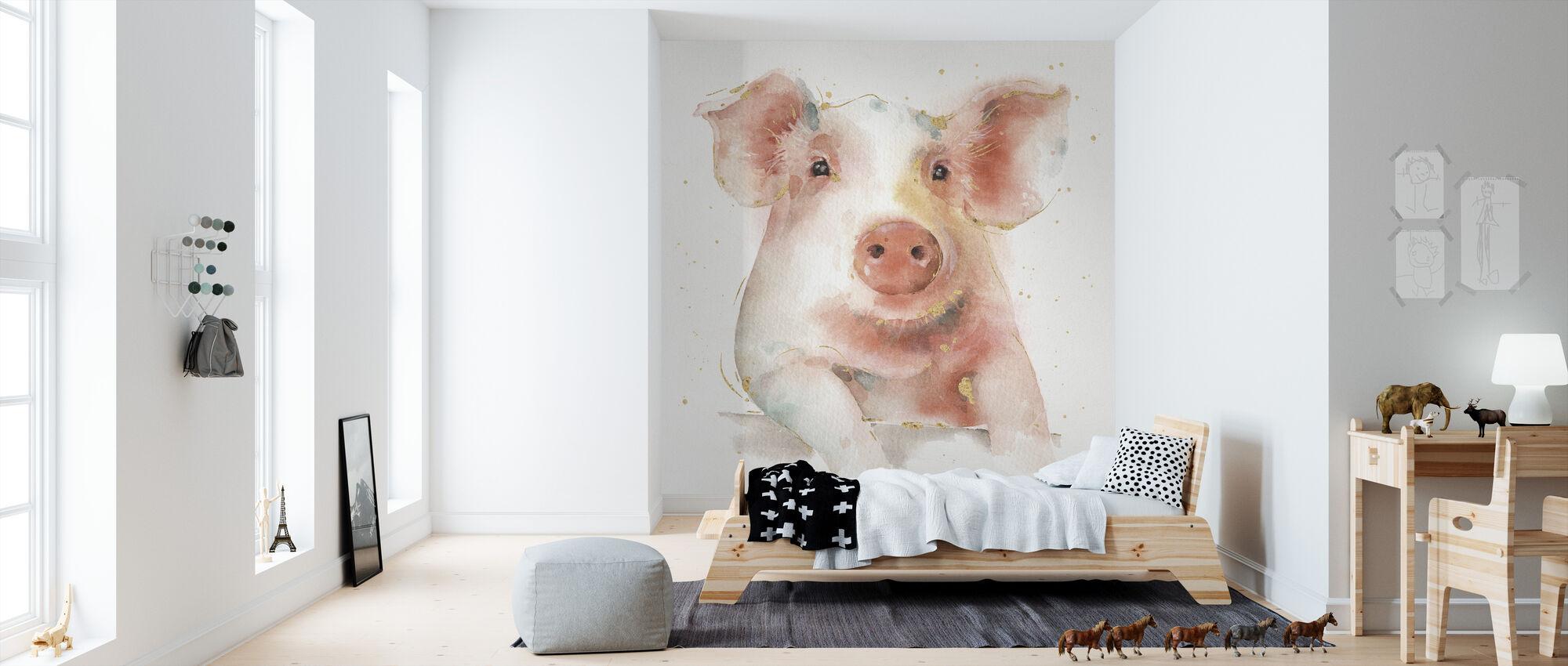 Farm Friends II - Wallpaper - Kids Room