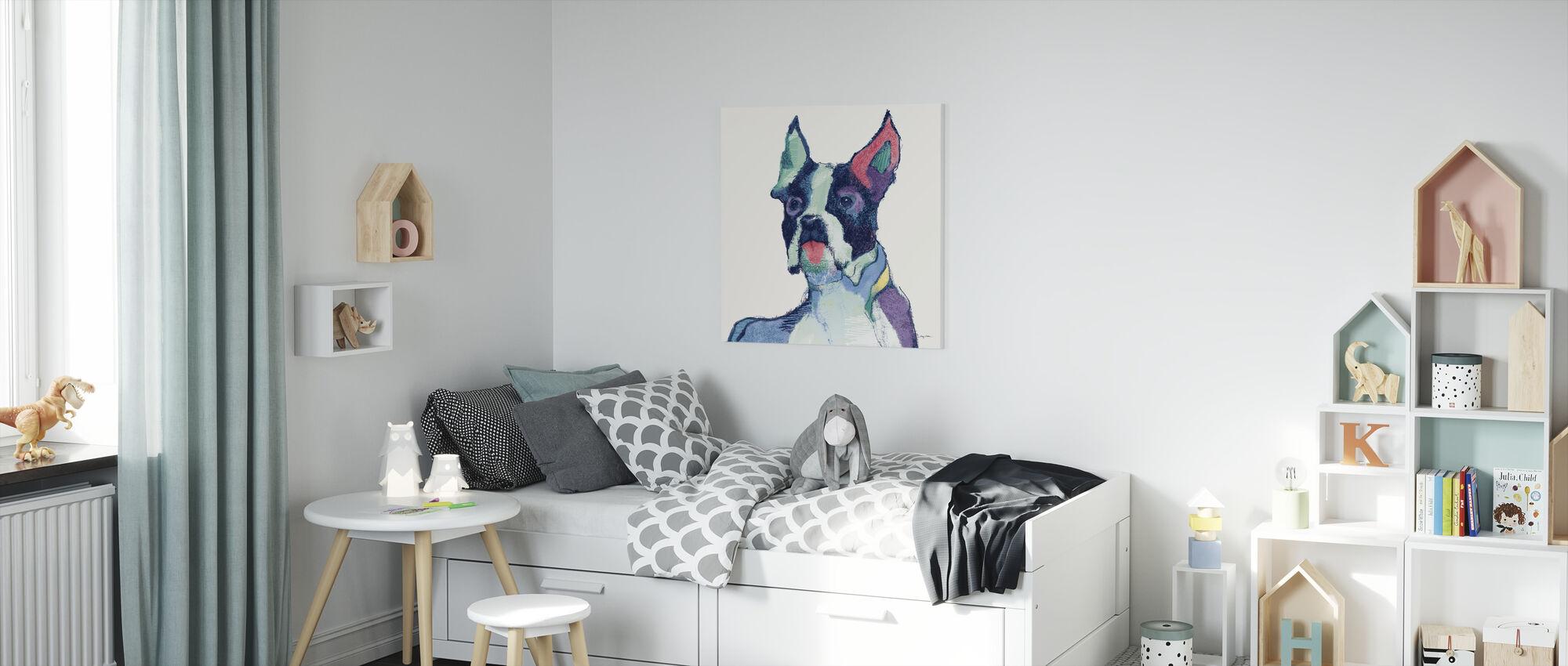 Ulysses Watercolor Pastel - Canvas print - Kids Room