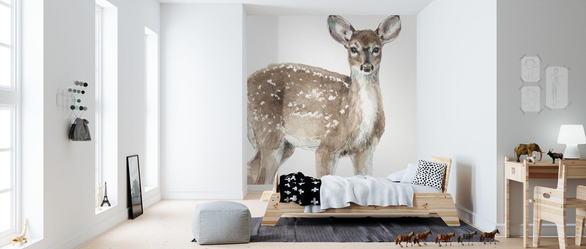 Forest Friends VI - Wallpaper - Kids Room