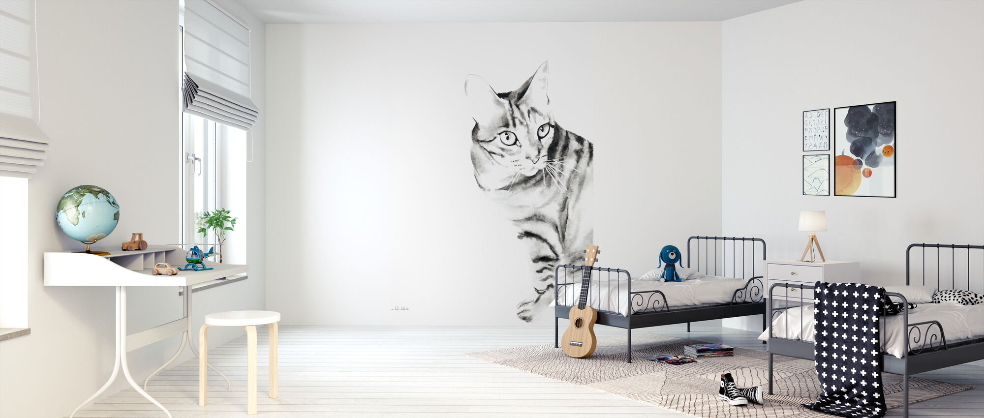 Sadie - Wallpaper - Kids Room