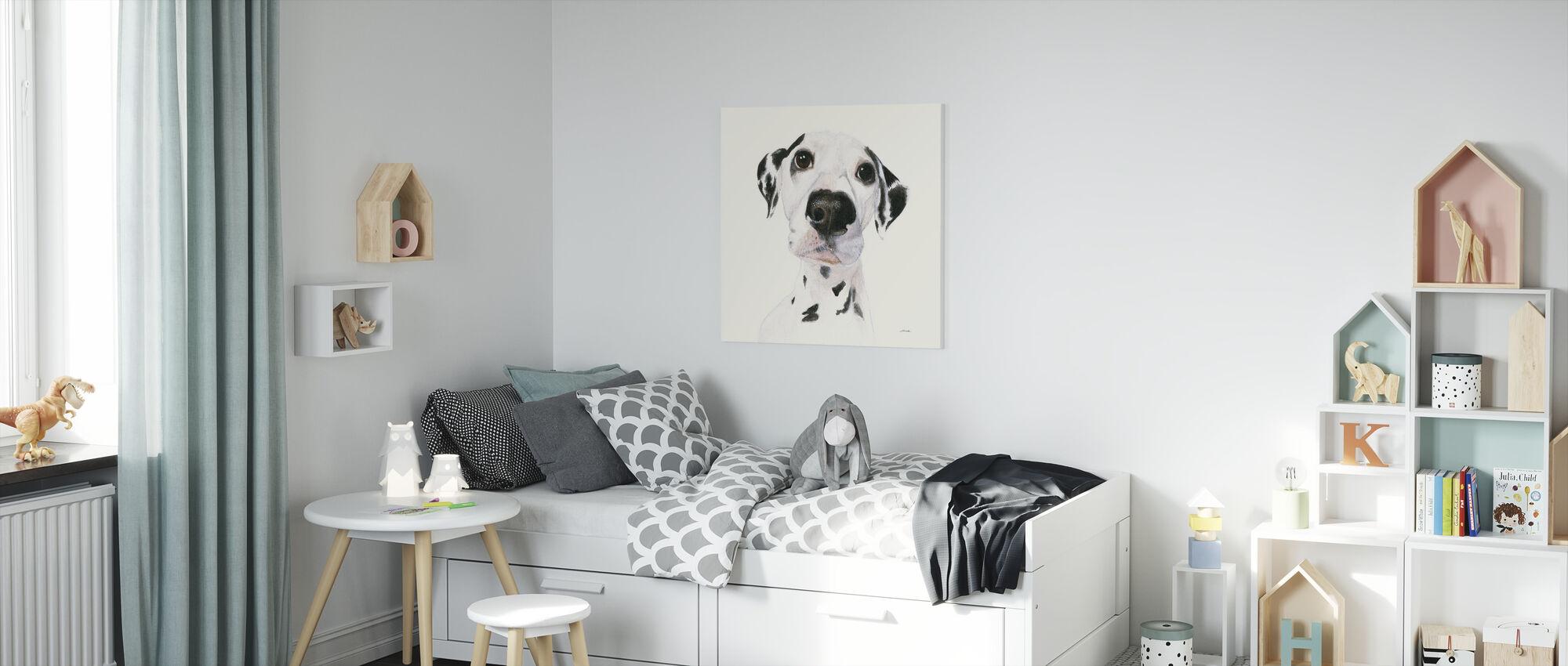 Milo - Canvas print - Kids Room