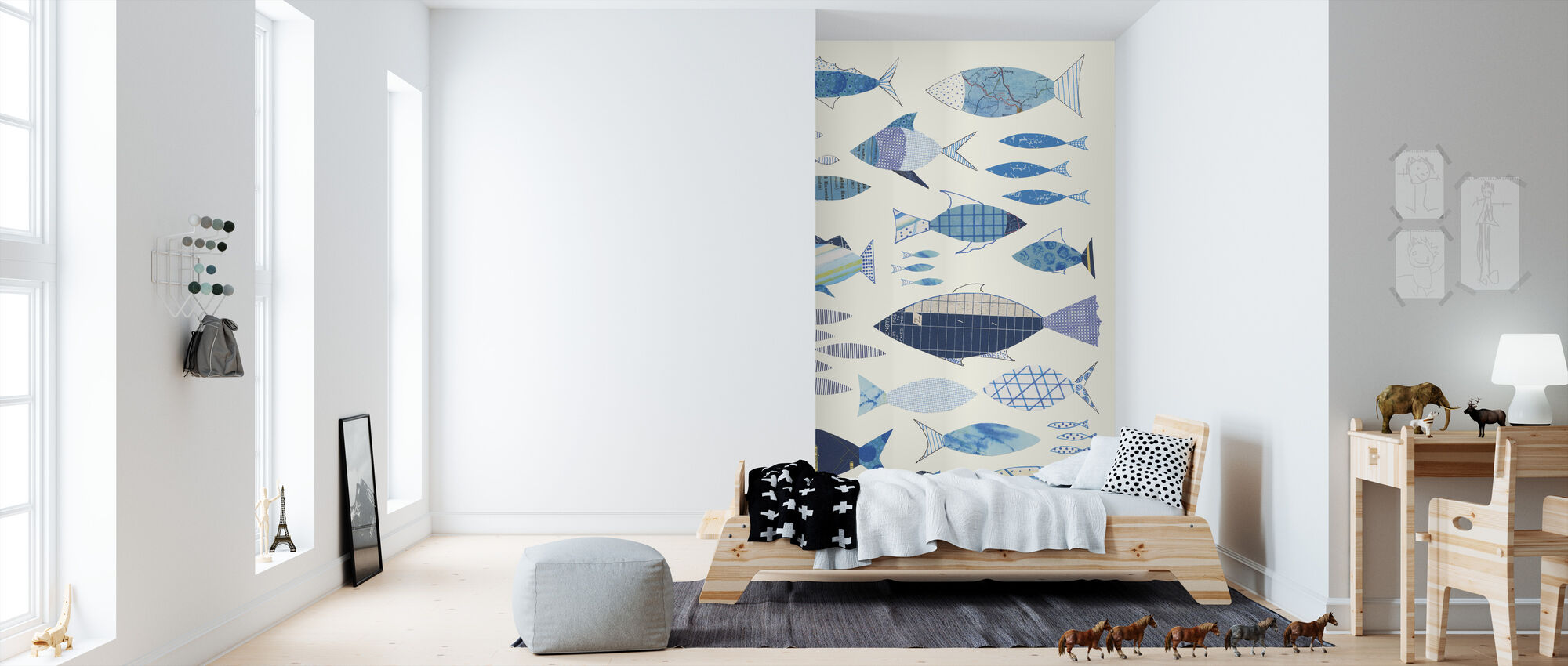 Go With the Flow I - Wallpaper - Kids Room