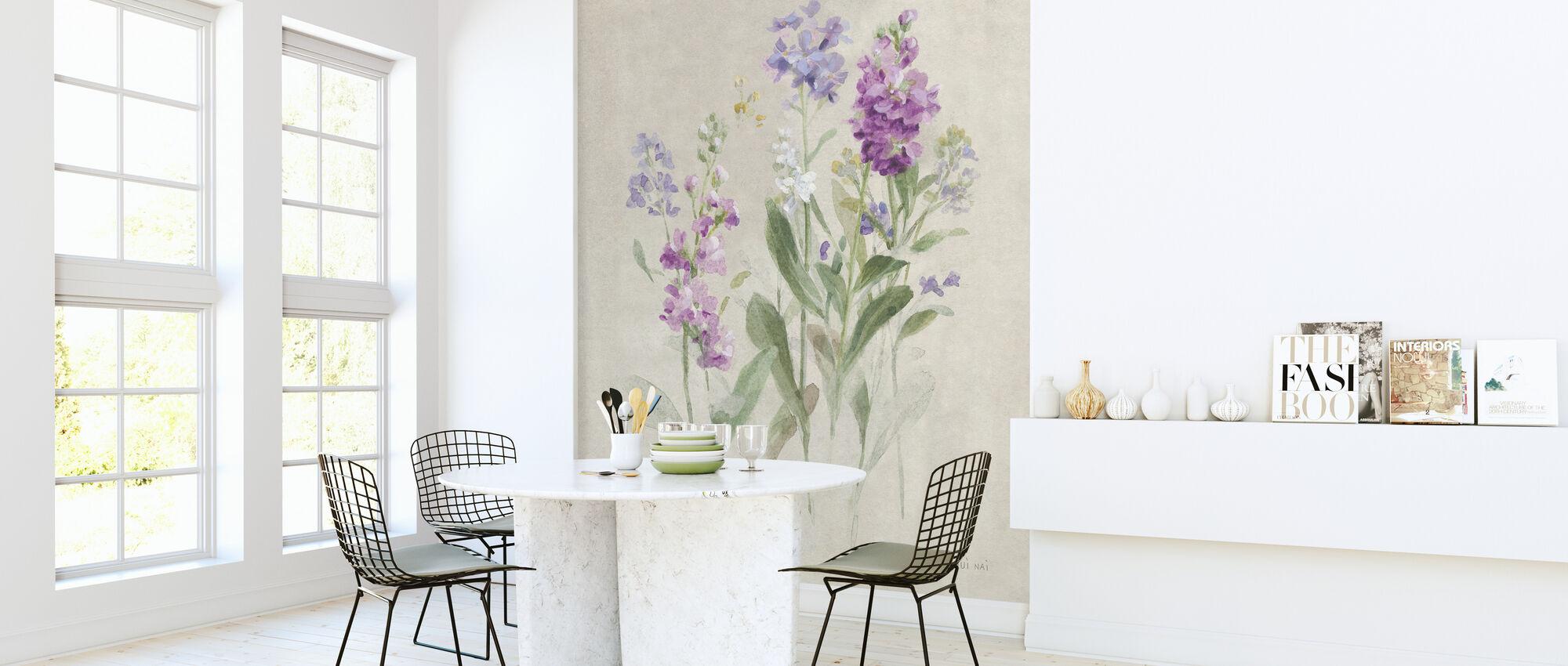 Tijgen van juni - Behang - Keuken