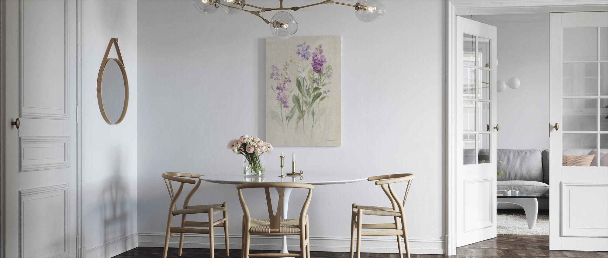 Sprigs of June - Canvas print - Kitchen