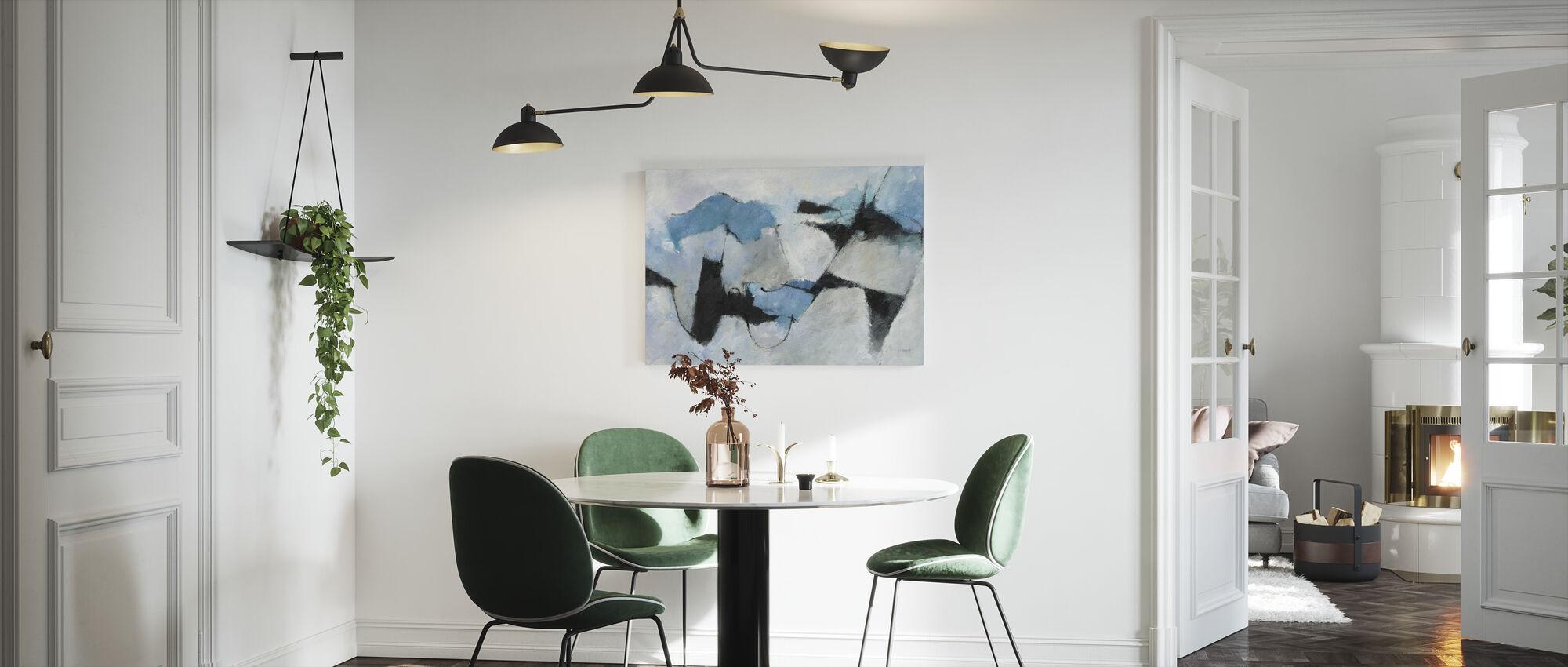 Shadow of Winter - Canvas print - Kitchen
