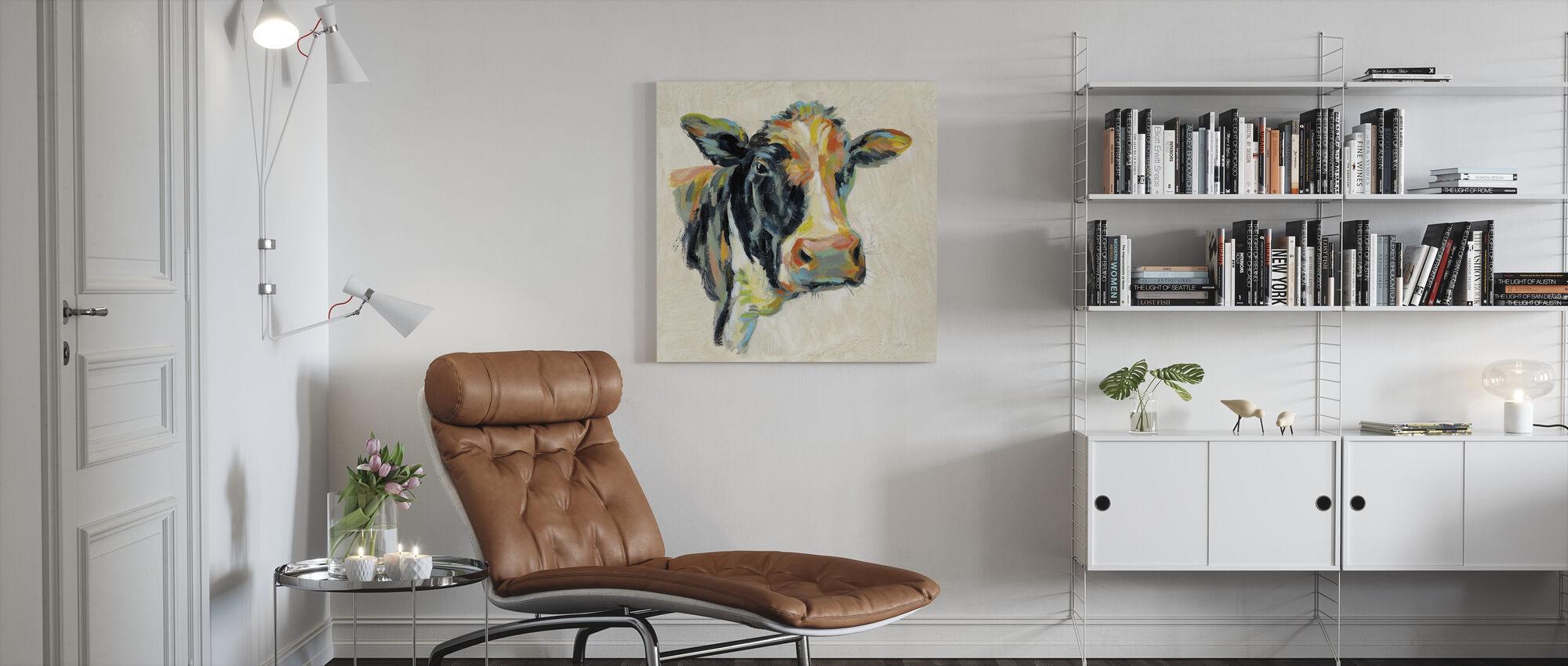 Vaca expresionista I - Lienzo - Salón