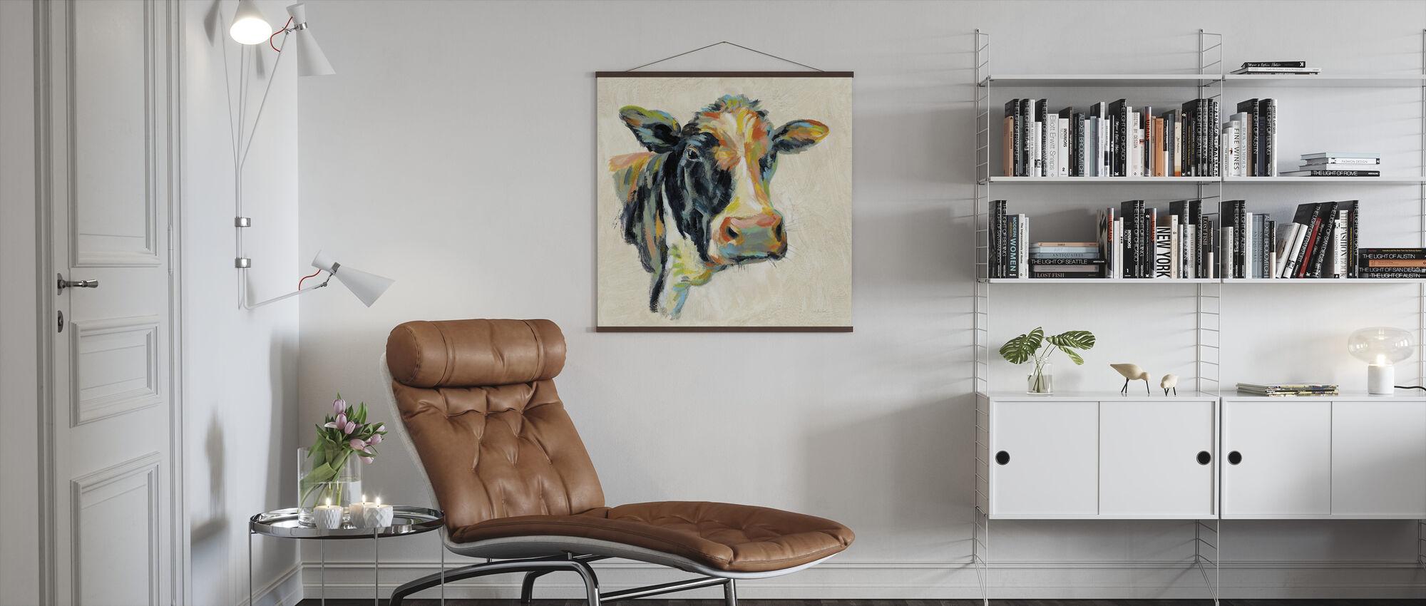 Expressionistische Koe I - Poster - Woonkamer