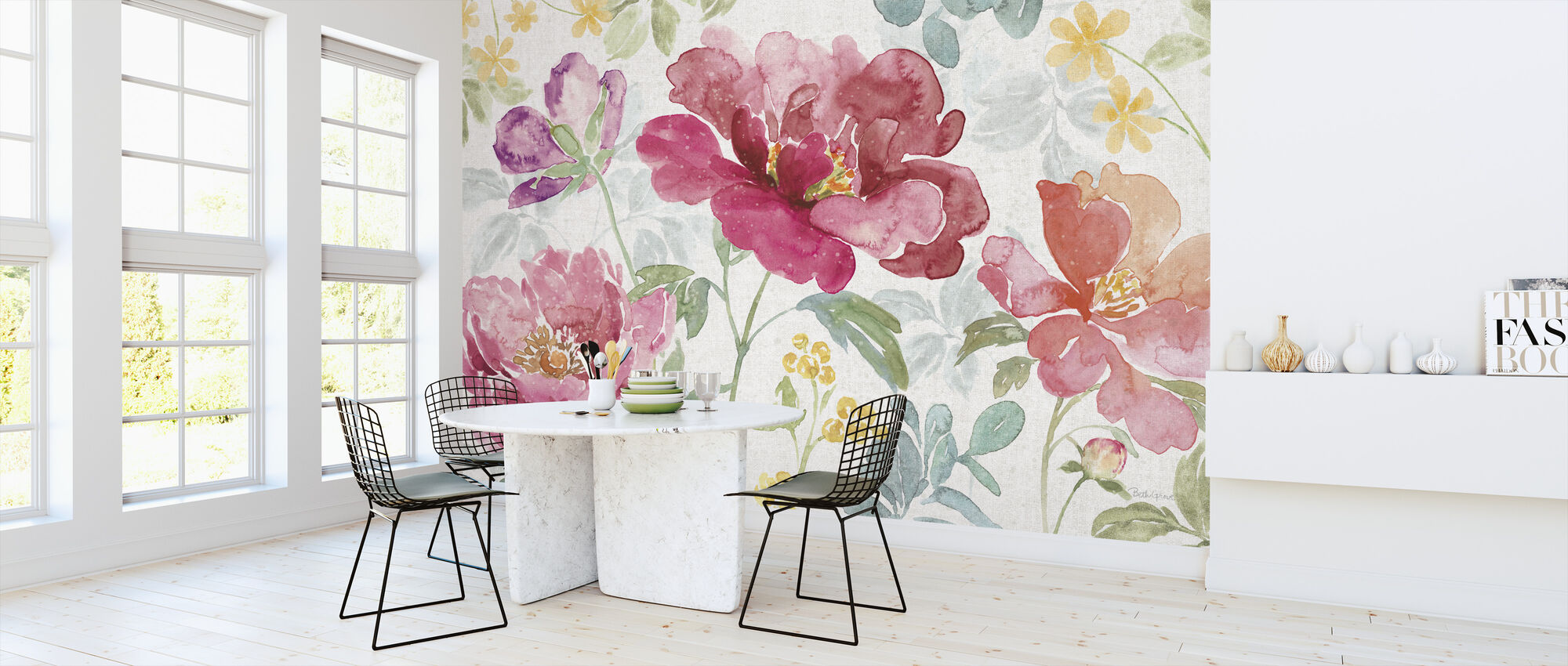Springtime Bloom - Wallpaper - Kitchen