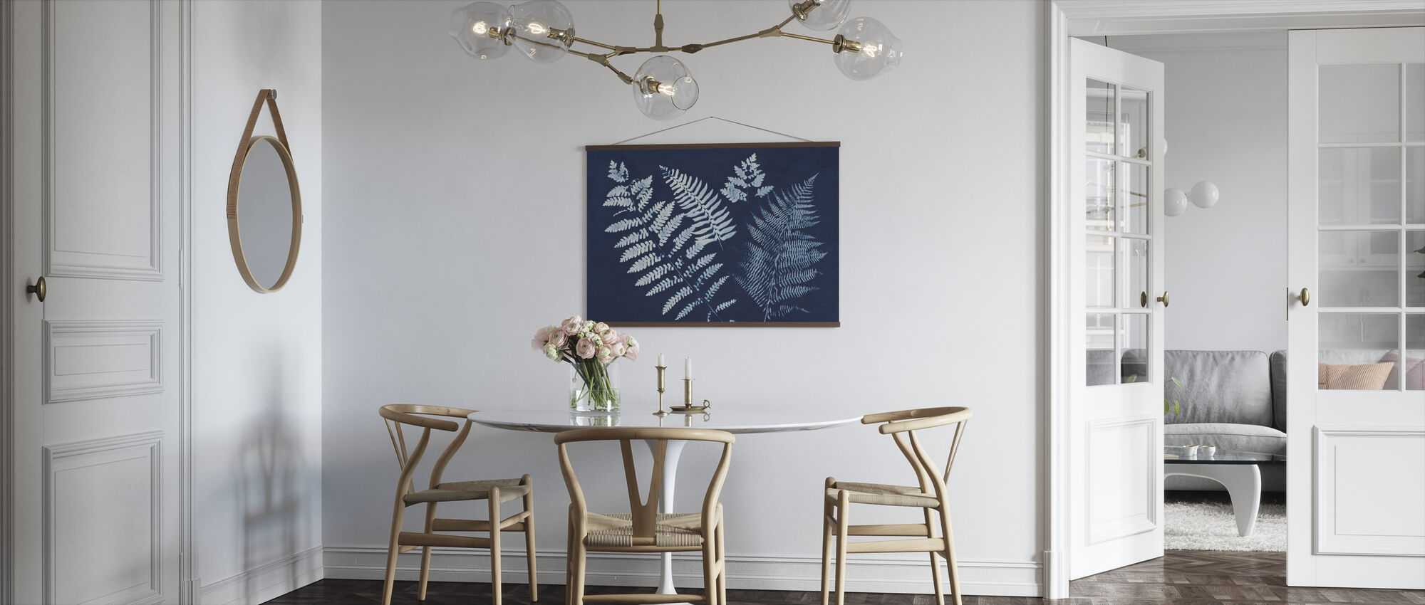 Nature by the Lake - Ferns II - Poster - Kitchen