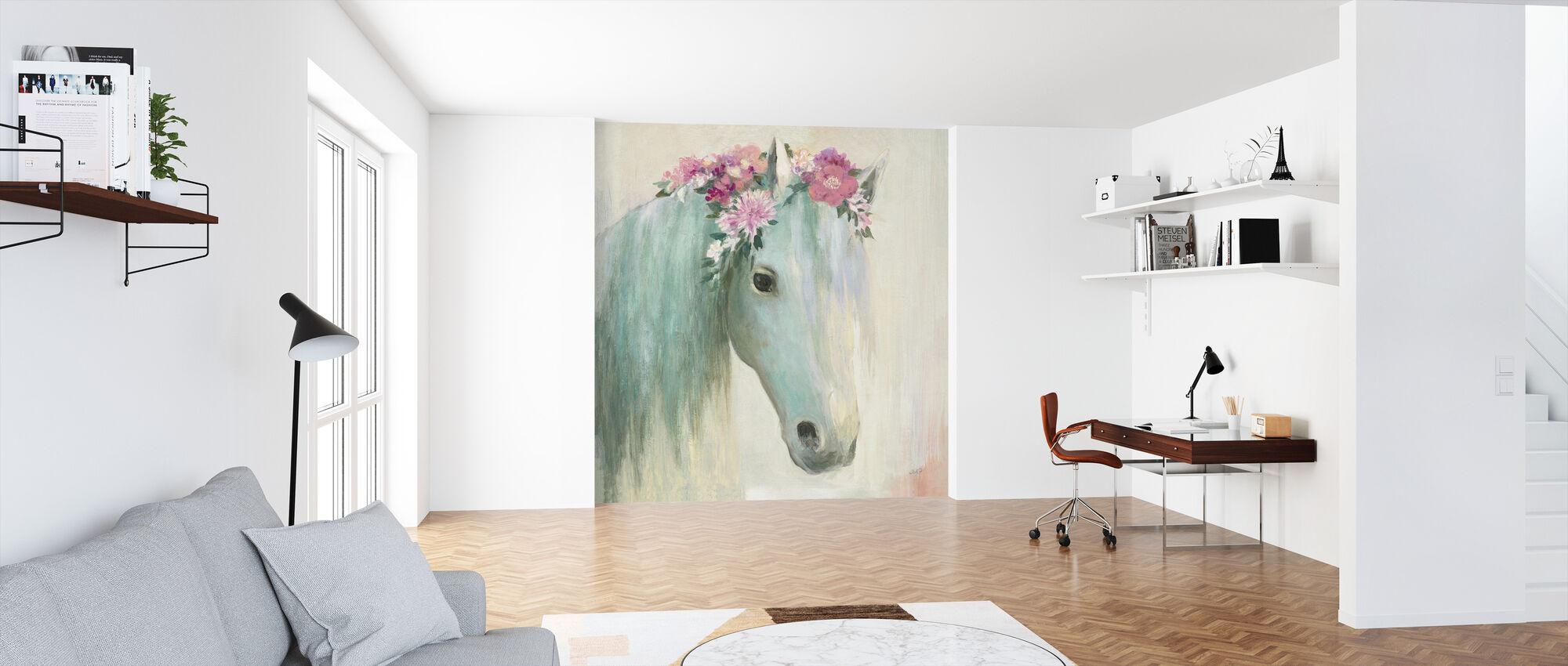 Festival Girl I - Wallpaper - Office