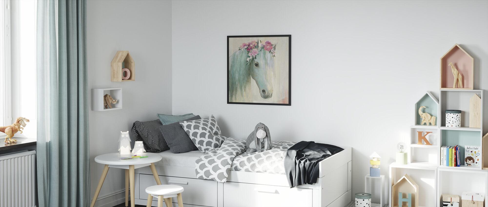 Festival Girl I - Framed print - Kids Room