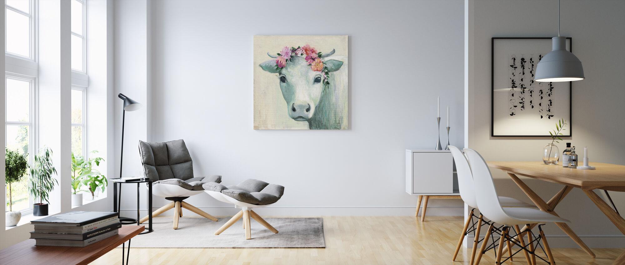 Festival Girl II - Canvas print - Living Room
