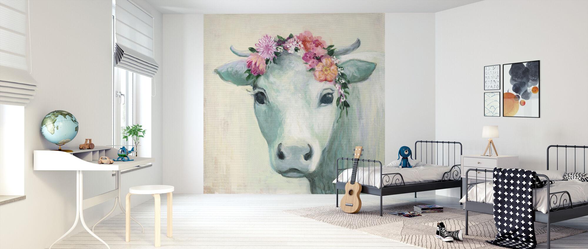 Festival Girl II - Wallpaper - Kids Room