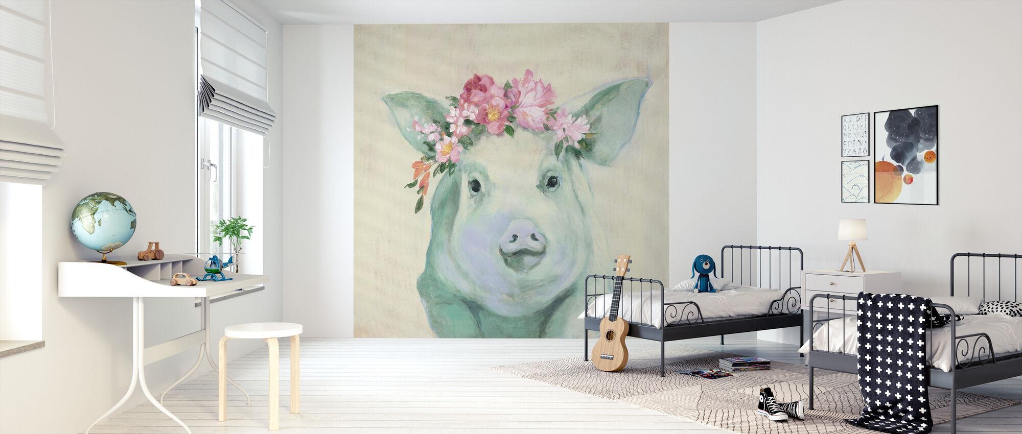 Festival Girl IIII - Wallpaper - Kids Room