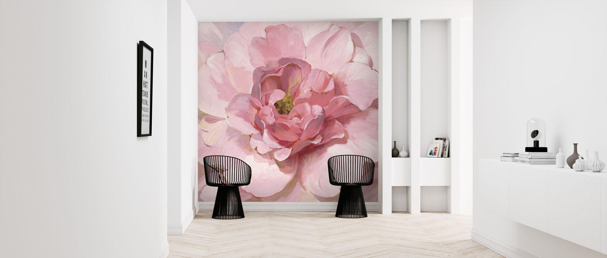 Blushing Peony - Wallpaper - Hallway