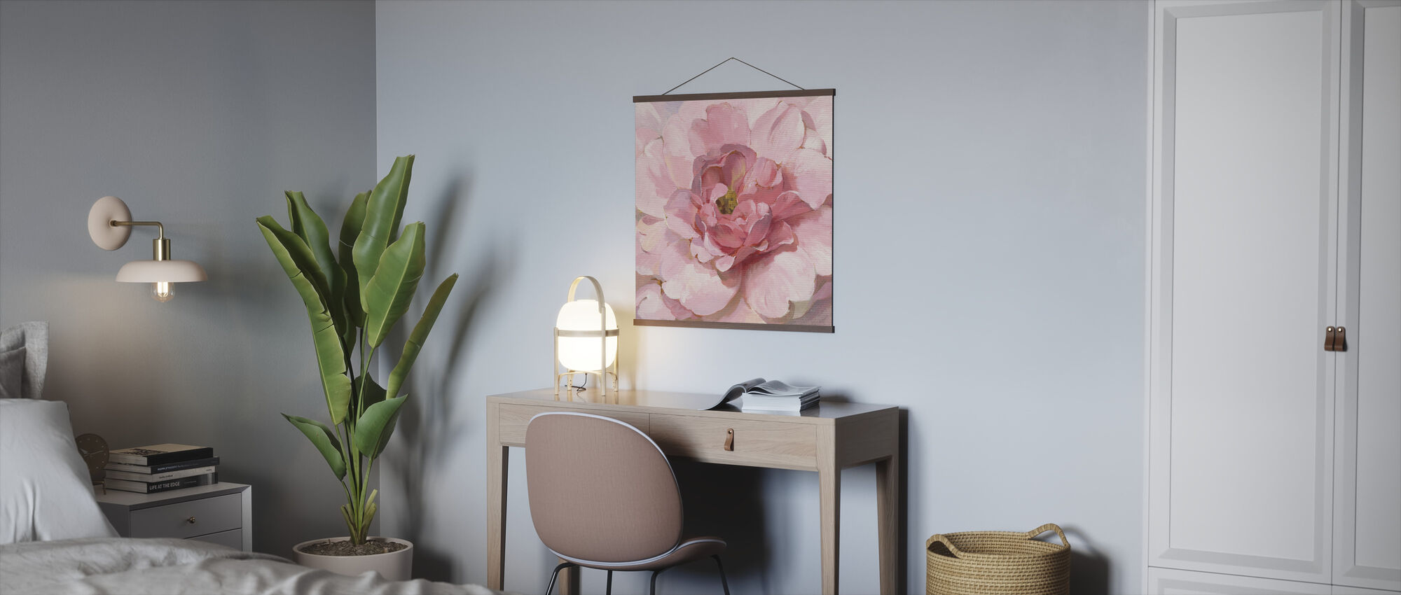 Blushing Peony - Poster - Office
