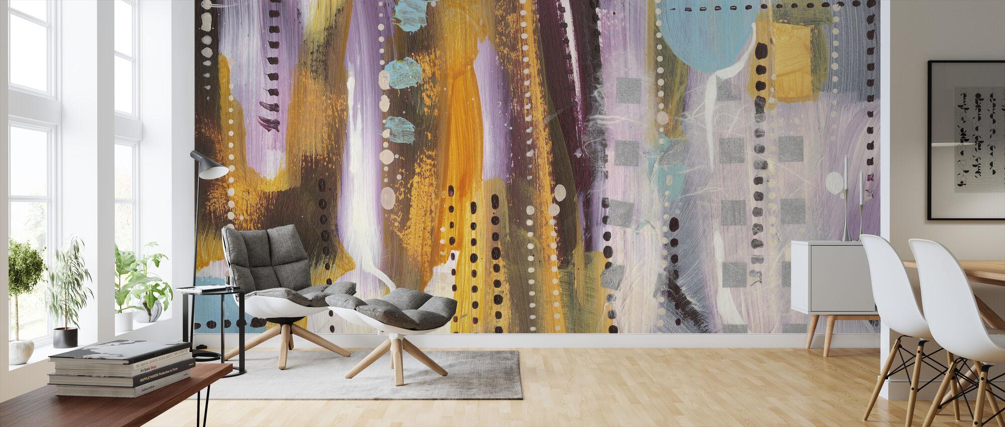 Wine Time Too - Wallpaper - Living Room