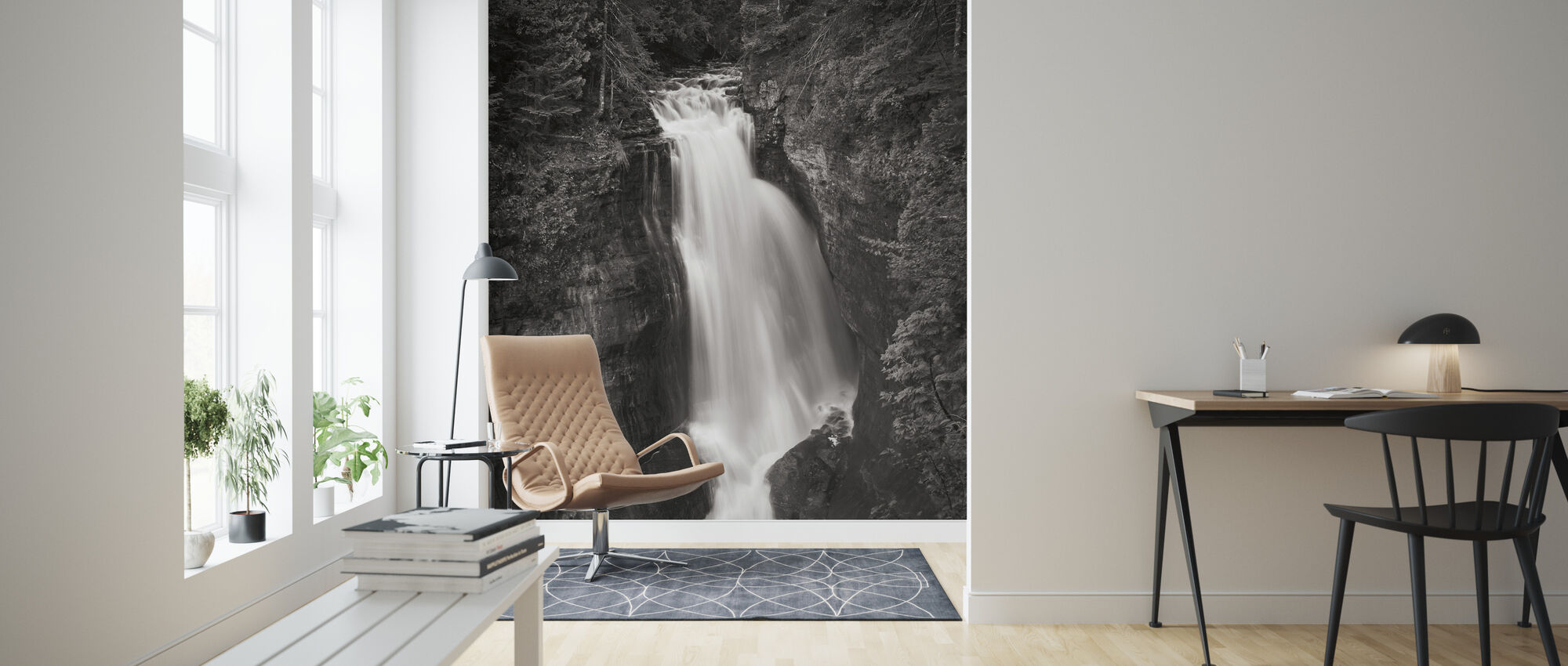 Miners Falls Michigan - Wallpaper - Living Room