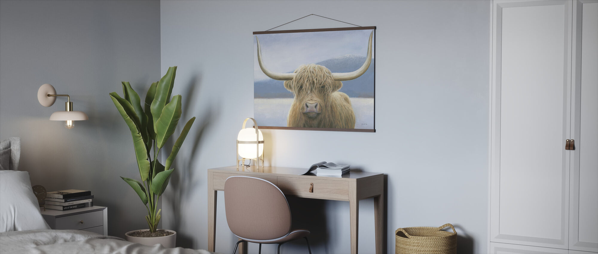 Highland Cow - Poster - Office