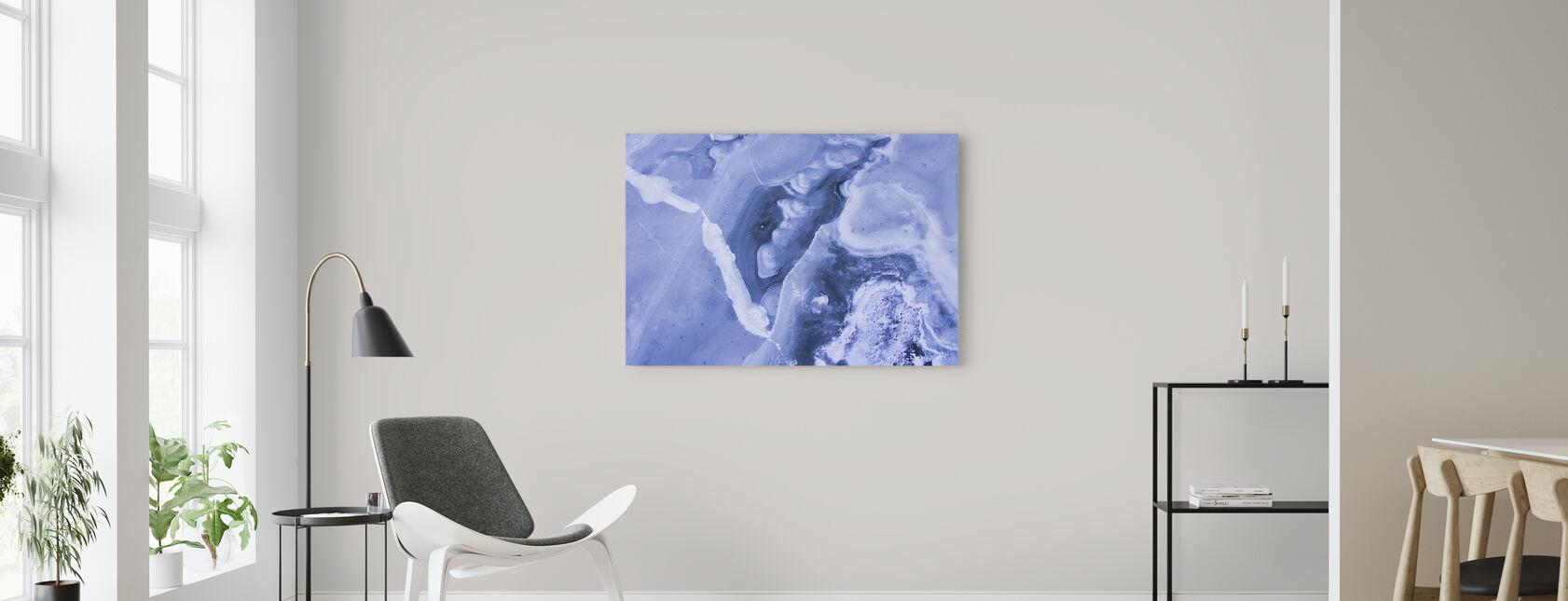 Frozen Lakes - Canvas print - Living Room