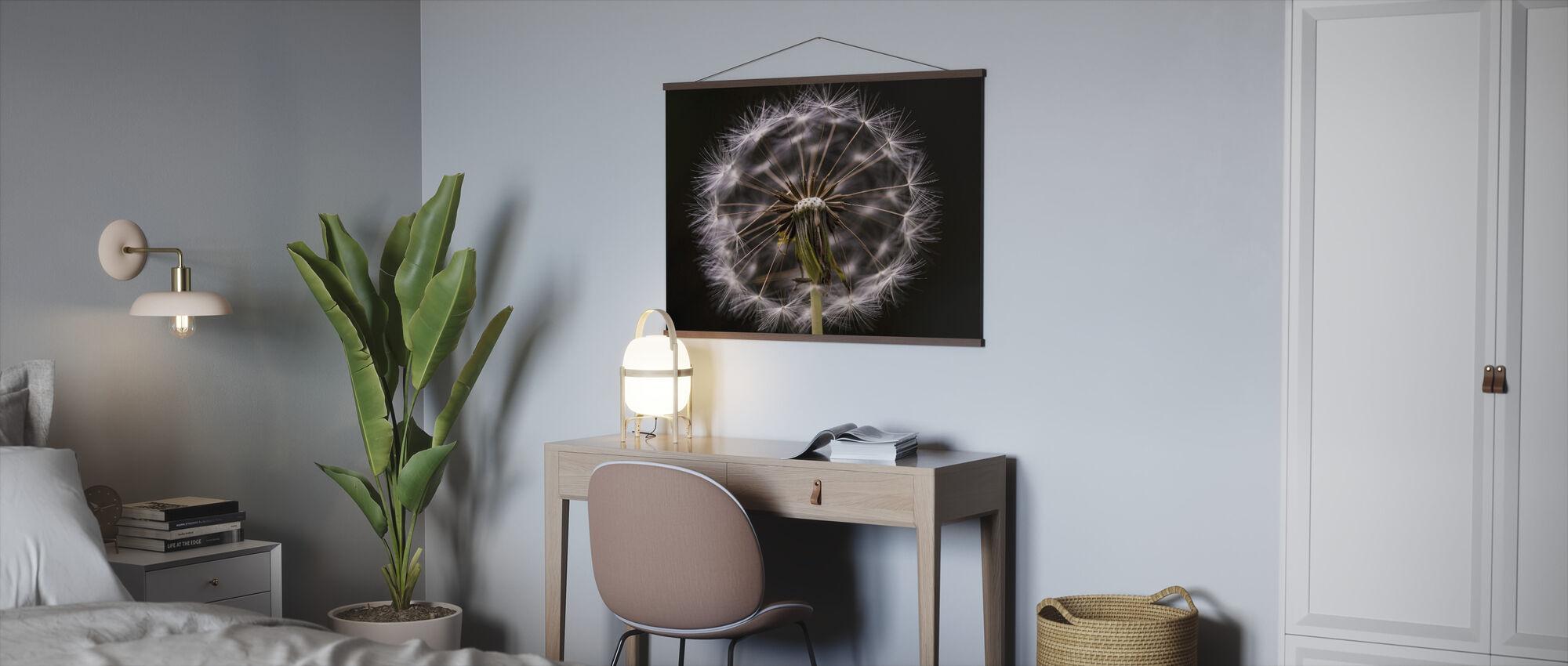 Freaky blomma - Poster - Kontor