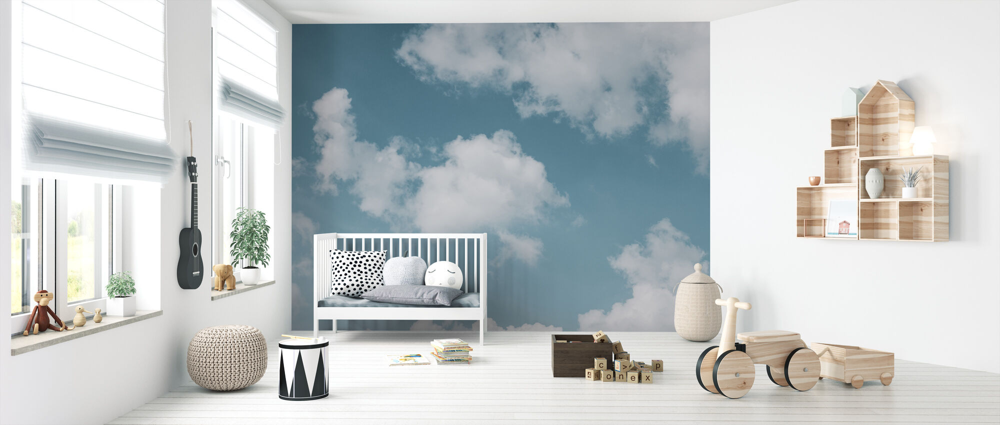 Sea of Clouds - Wallpaper - Nursery