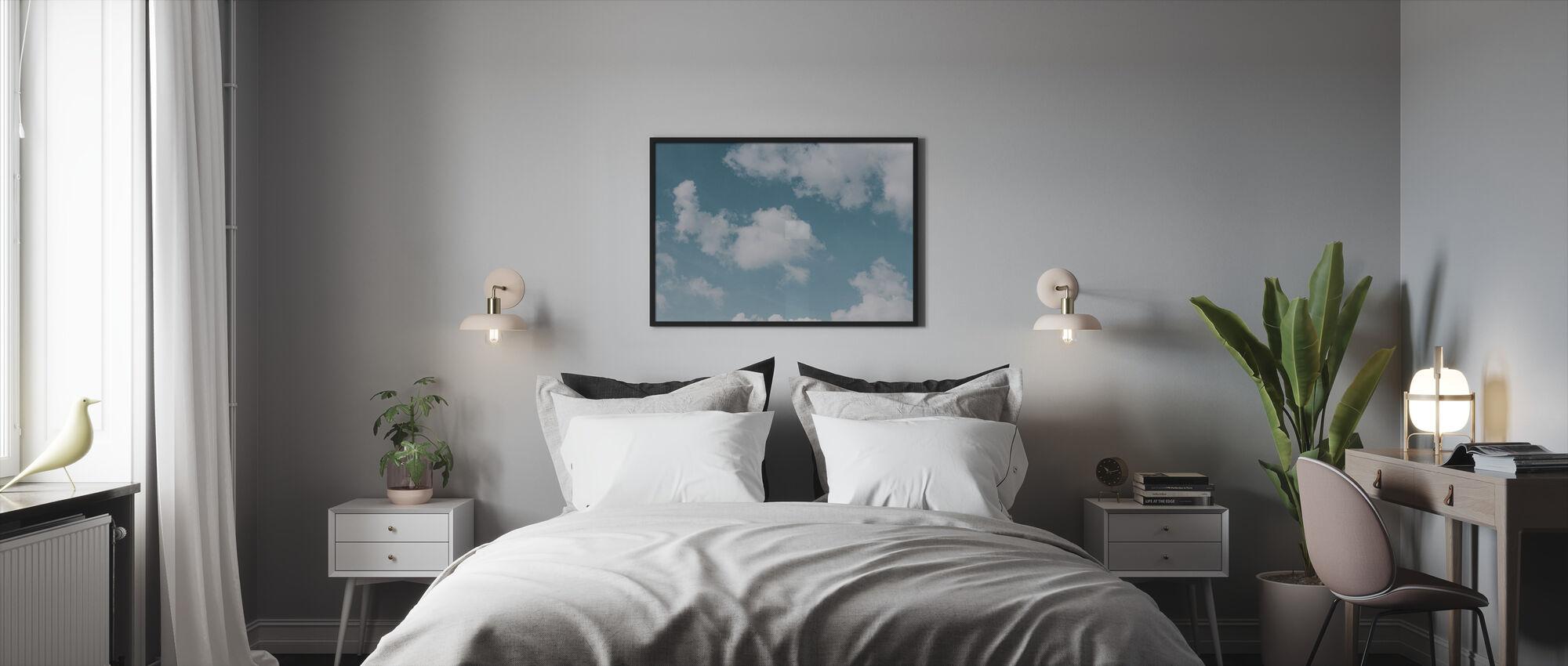 Hav af skyer - Indrammet billede - Soveværelse
