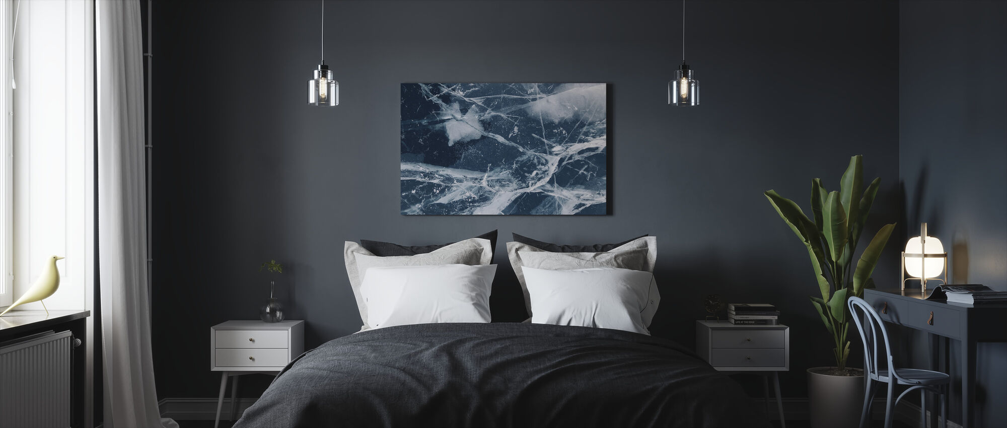 Abstract - Canvas print - Bedroom