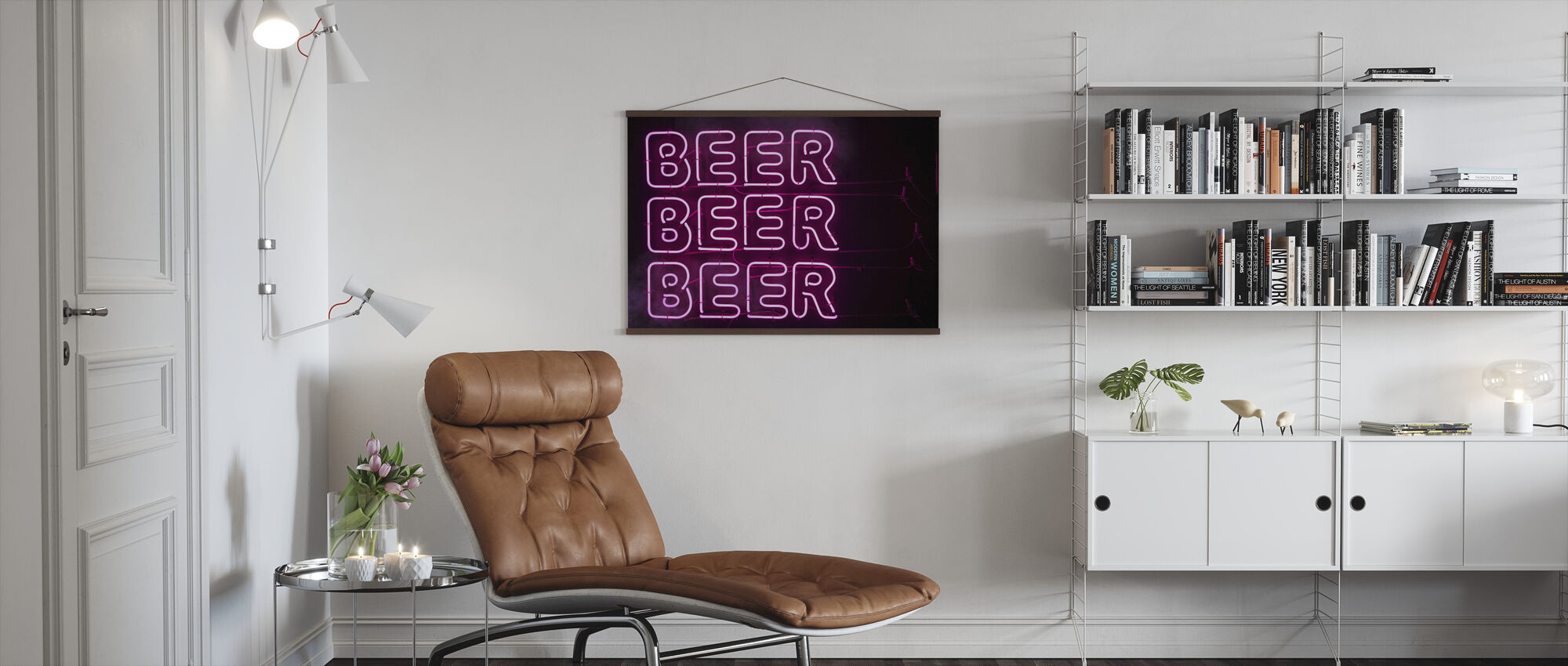 Beer Beer Beer - Poster - Living Room