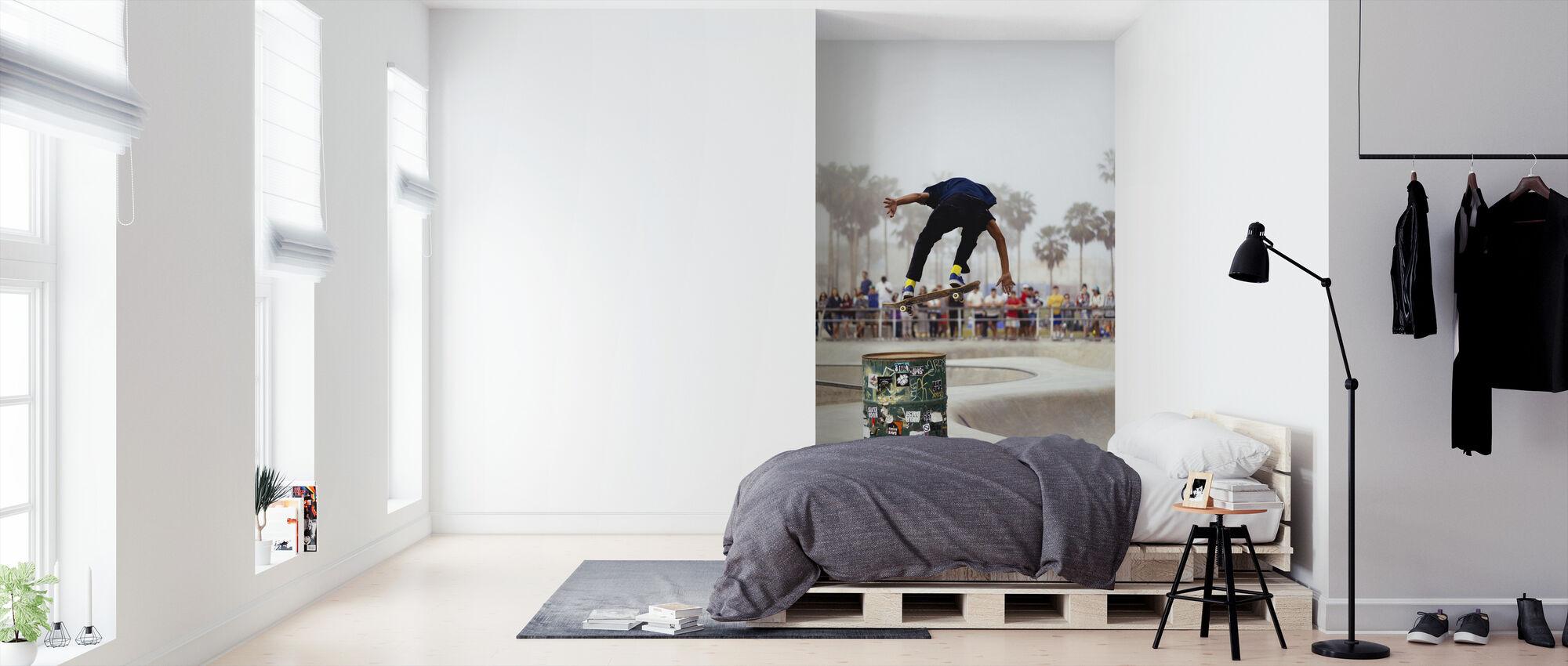 Skateboard Hangtime - Tapeta - Sypialnia