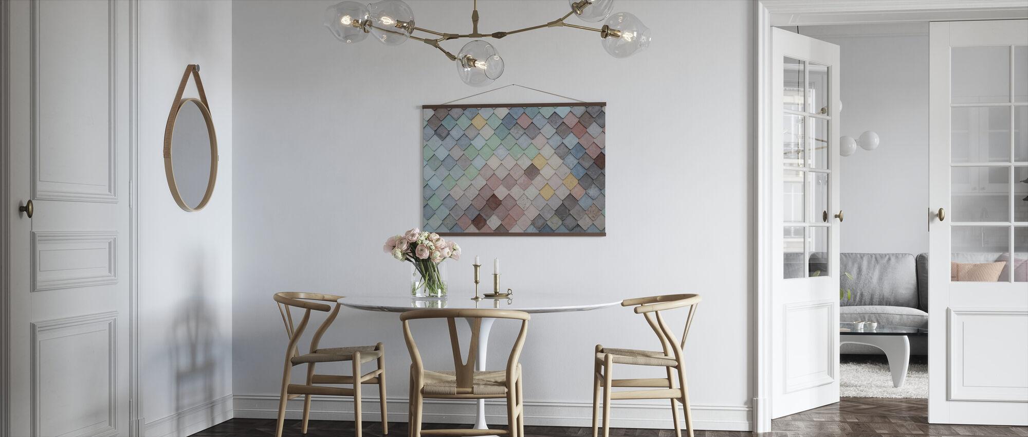 Tegel Patroon - Poster - Keuken