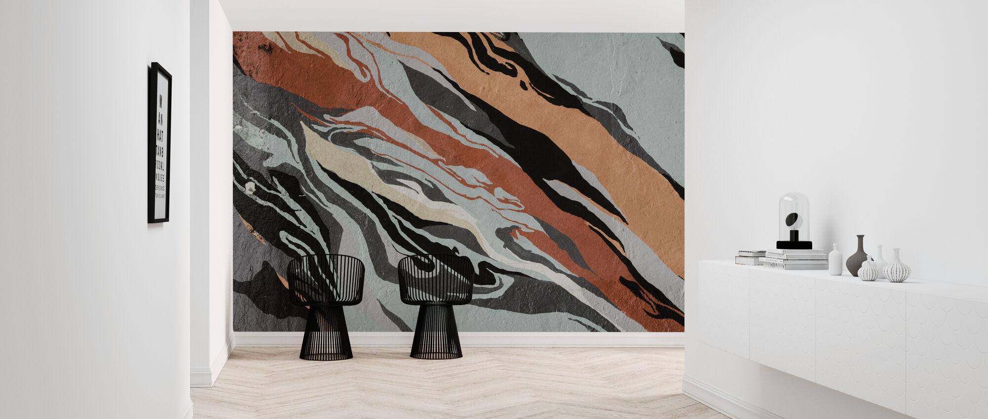 Abstract patroon - Behang - Gang