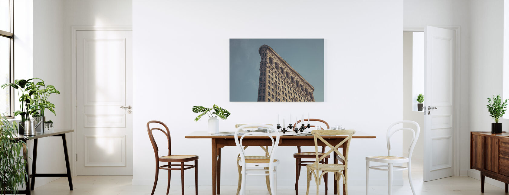 Flatiron Corner - Canvas print - Kitchen
