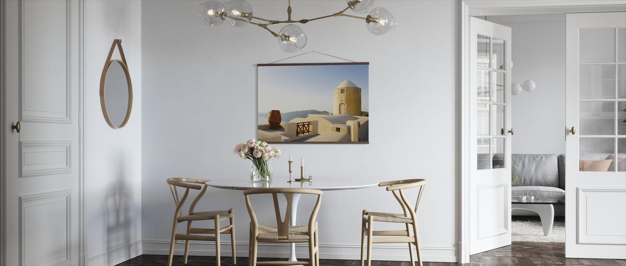 Palazzo Santorini - Poster - Cucina