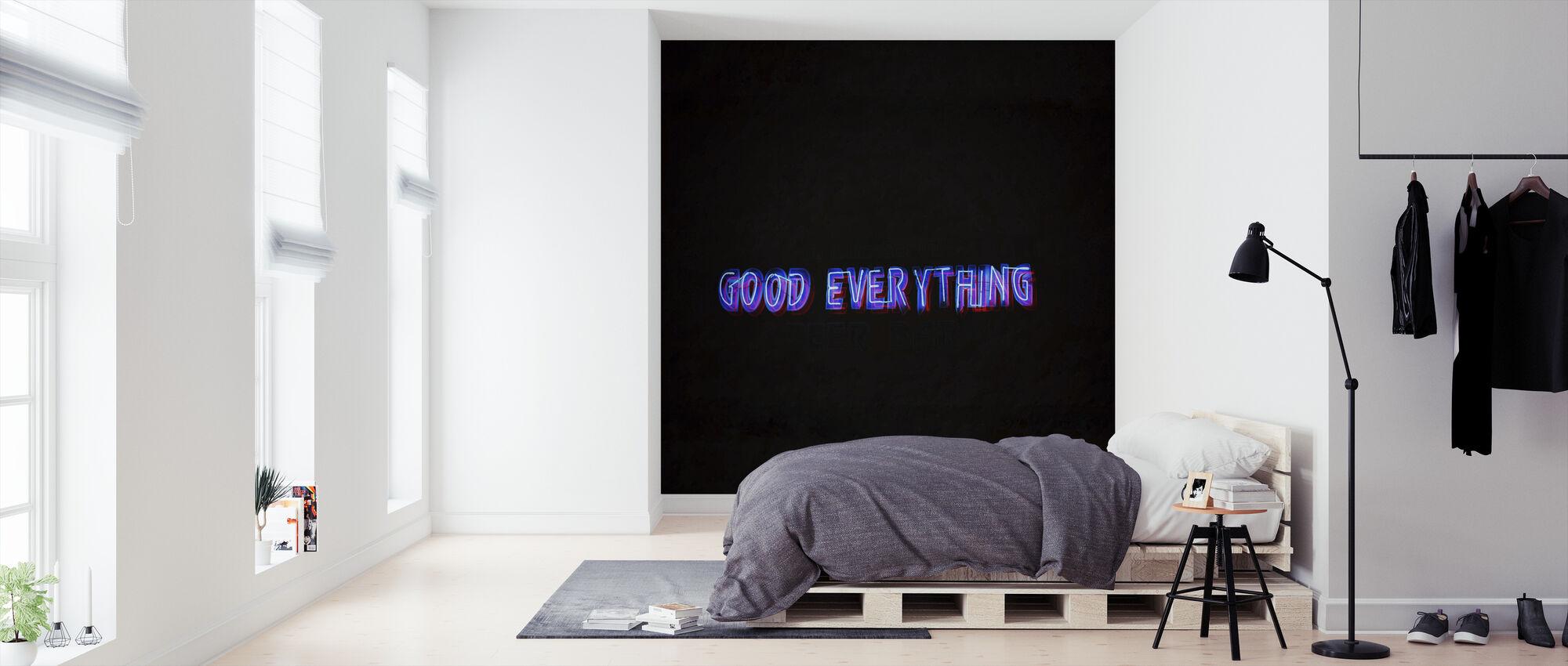 Alles goed - Behang - Slaapkamer