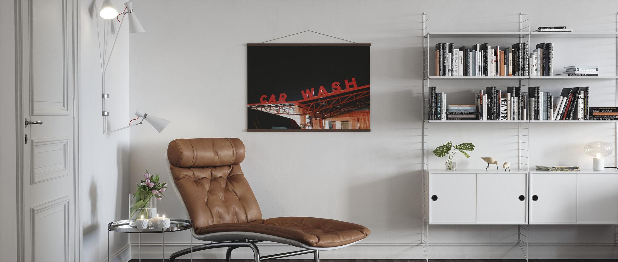 Car Wash - Poster - Living Room