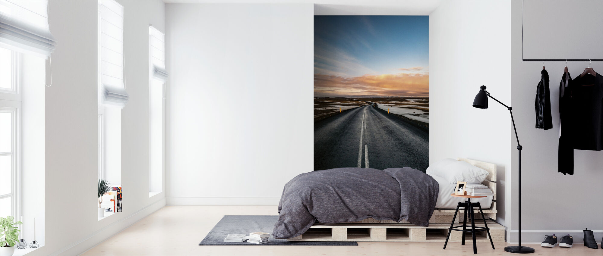 Road to Dettifoss - Wallpaper - Bedroom