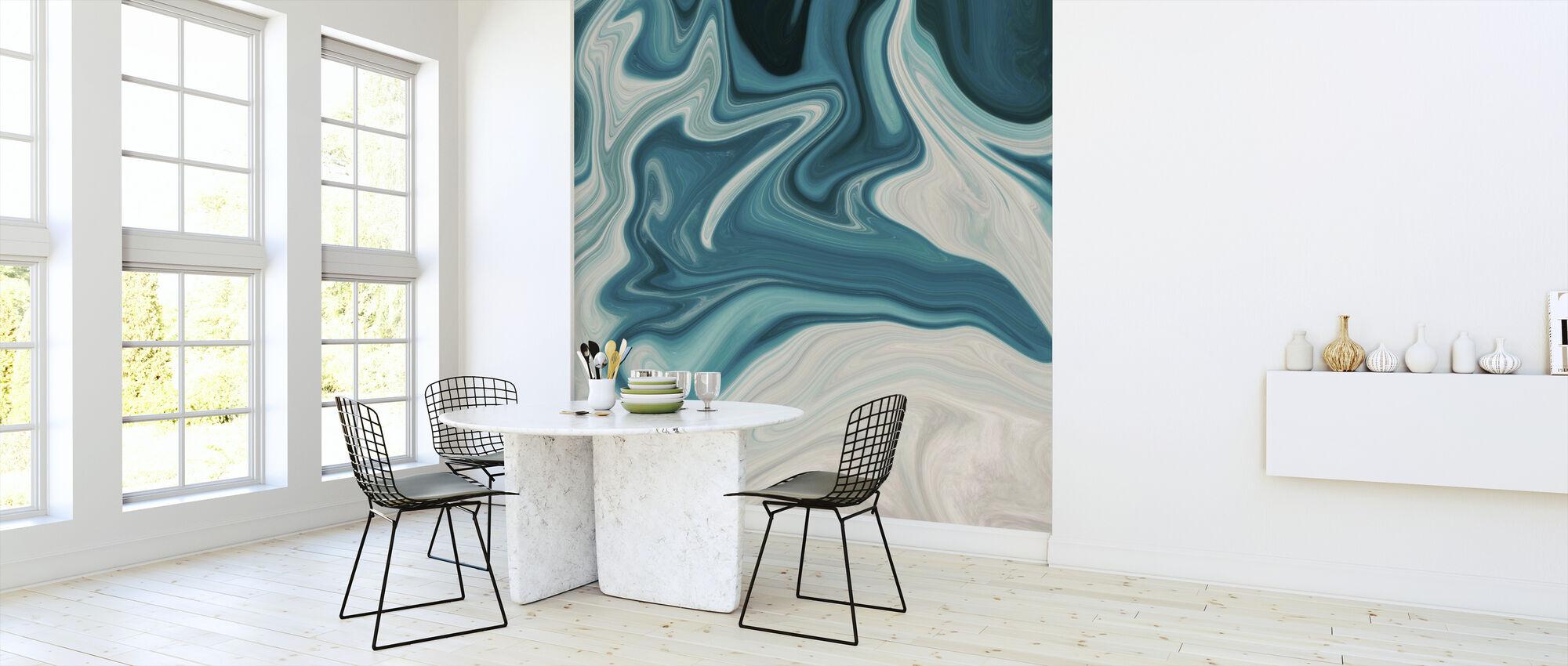 Sea of Marble - Wallpaper - Kitchen