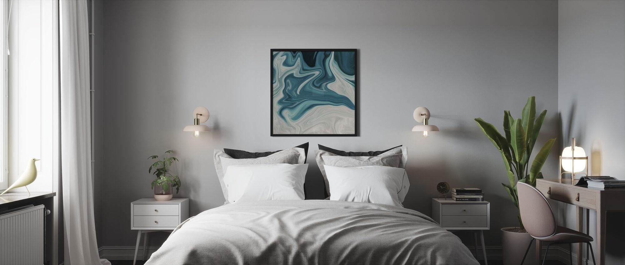 Havet av marmor - Innrammet bilde - Soverom