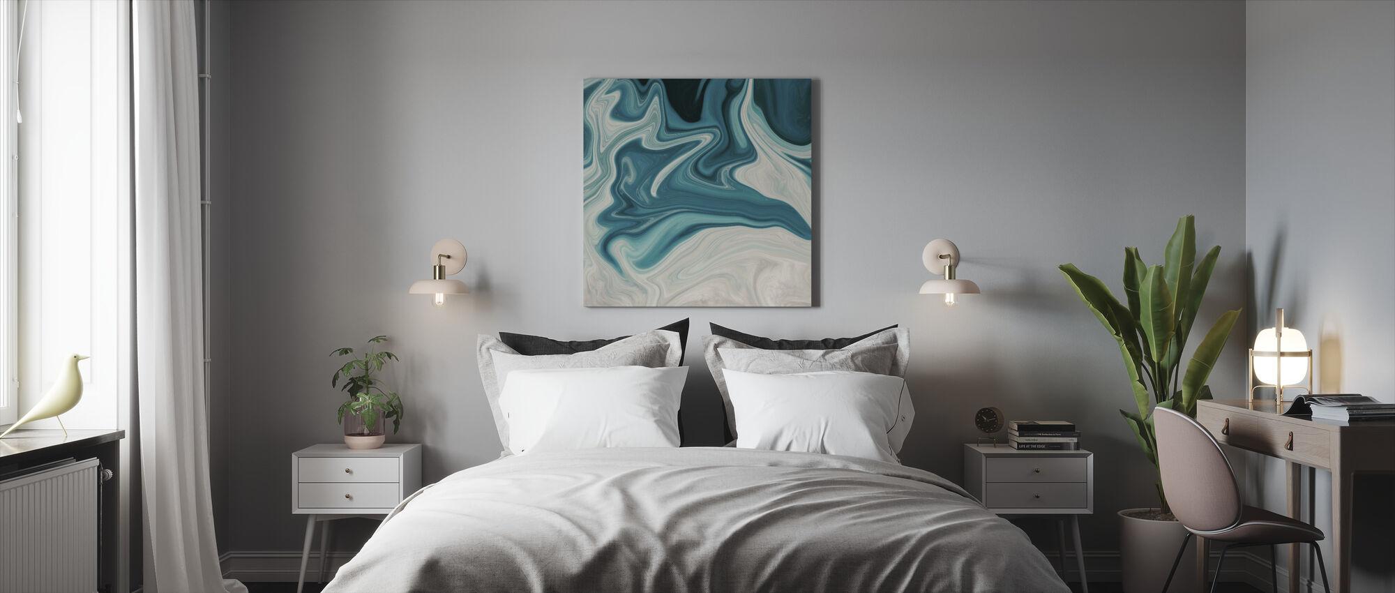 Sea of Marble - Canvas print - Bedroom