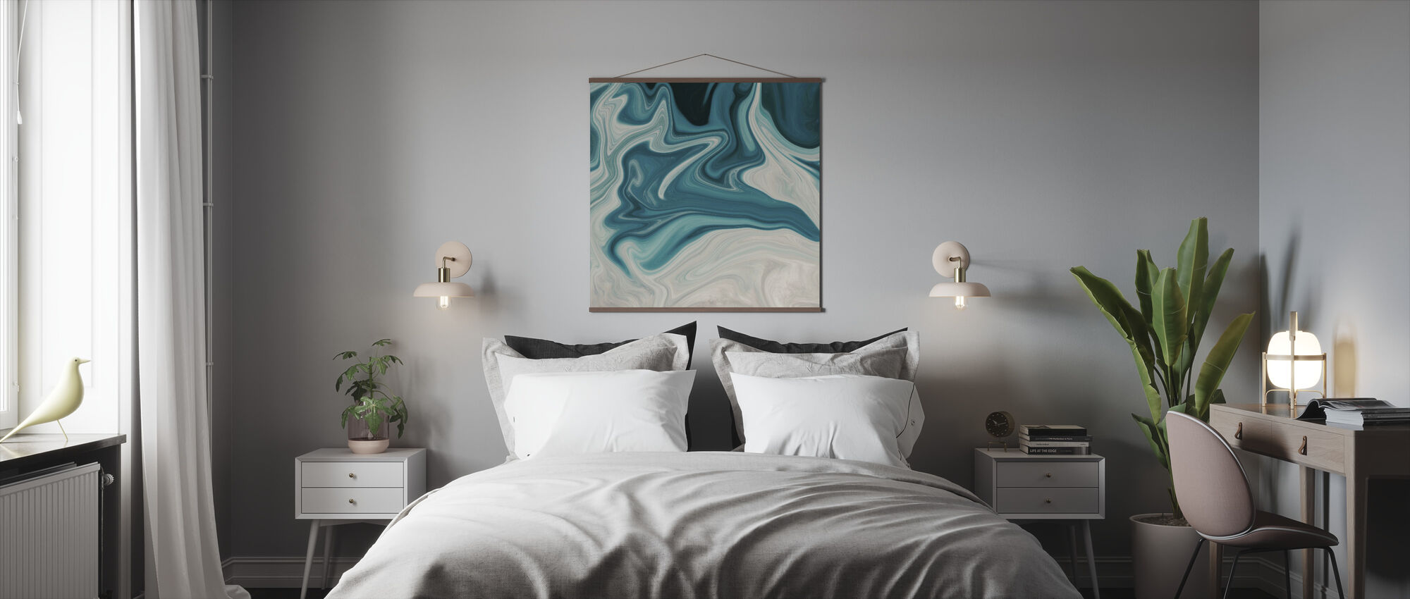 Sea of Marble - Poster - Bedroom