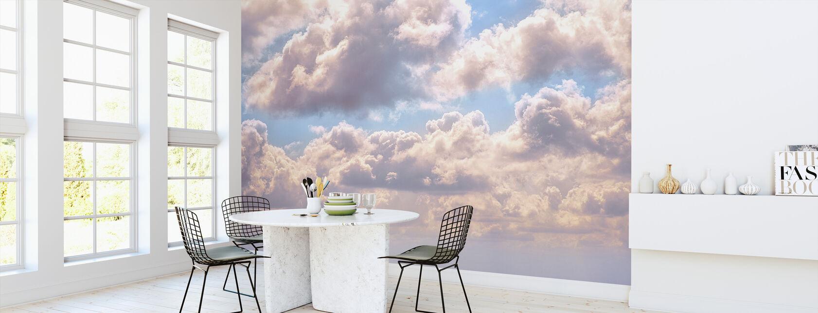 Wolken - Behang - Keuken