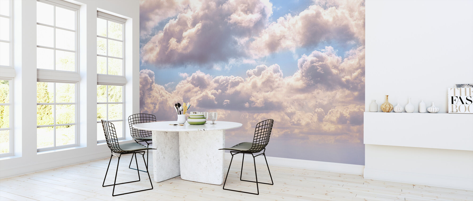 Clouds - Wallpaper - Kitchen